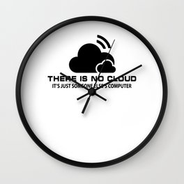 Cloud Cybersecurity Article 13 Notice Gift Wall Clock