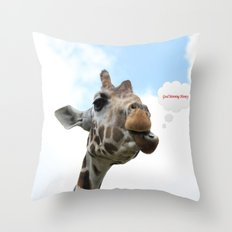 Good Morning Honey Throw Pillow