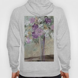 January Floral Hoody