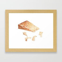 Parmigiano-Reggiano Cheese Framed Art Print