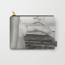 Lesbian Love at Sunrise on the beach Carry-All Pouch