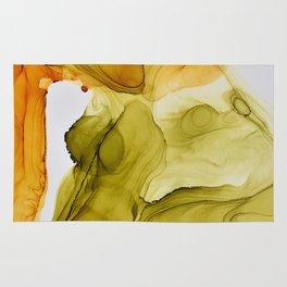 Autumn Ink Composition Rug
