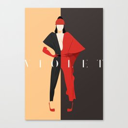 Violet Chachki Canvas Print