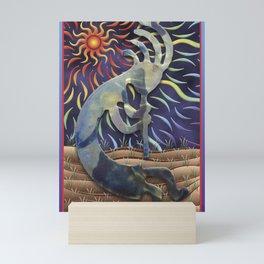 Kokopelli Spring Mini Art Print