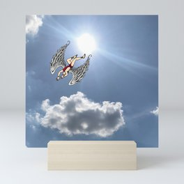 Icarus and the Sun Mini Art Print