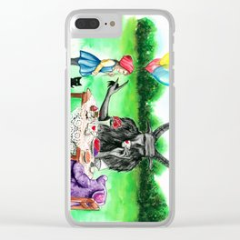 Damnation can wait Clear iPhone Case