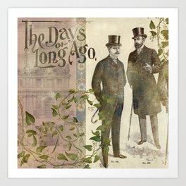 The Days of Long Ago Art Print