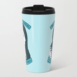 BE MORE CYNICAL AND SELF-ABSORBED Travel Mug