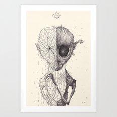 The Patient Art Print