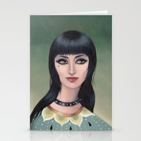 lydia martin Stationery Cards featuring Lydia by Arabella Proffer