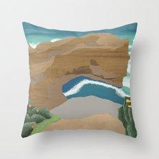 Edge of Oz #4 Throw Pillow