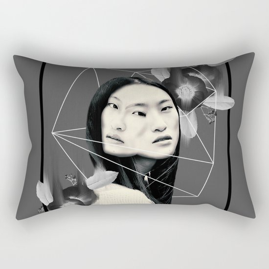 We Exist Rectangular Pillow