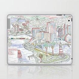 Long Beach Laptop & iPad Skin