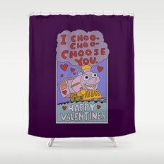 The Simpsons: I choo-choo-choose you Shower Curtain