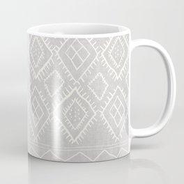 Beni Moroccan Print in Grey Coffee Mug