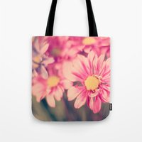 Pink Retro  Tote Bag