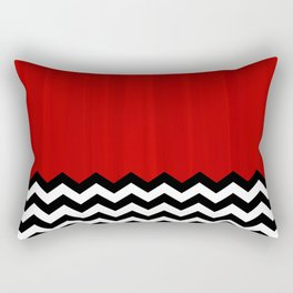 Twin Peaks - The Red Room Rectangular Pillow