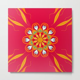 Red Hot Summer Metal Print