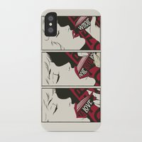 led zeppelin iPhone & iPod Cases featuring Porn Zeppelin by Butcher Billy