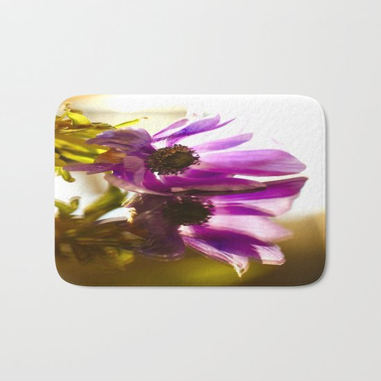 Flower Reflection Like A Kiss  Bath Mat