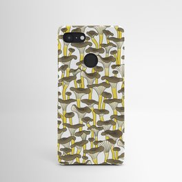 Yellow Foot Mushrooms Android Case