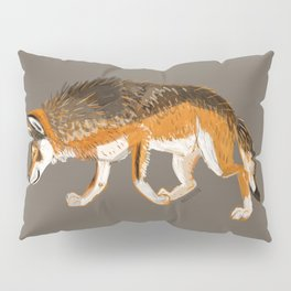 Wolves of the world: Italian Wolf Canis lupus italicus Pillow Sham