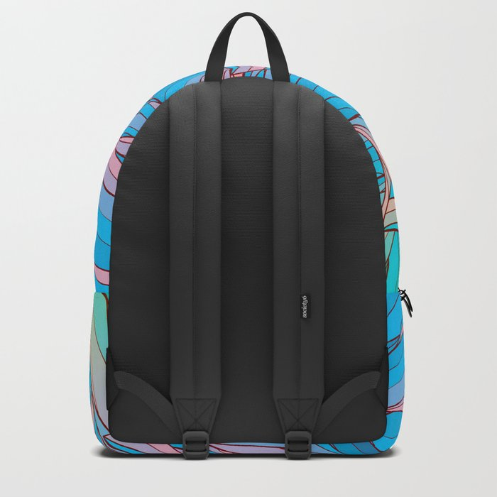 Sun Light Waves Backpack