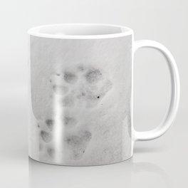 Yellow Stone - Wolf Tracks Coffee Mug