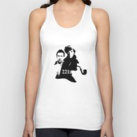 221b Tank Tops featuring Residents of 221B by MadTee