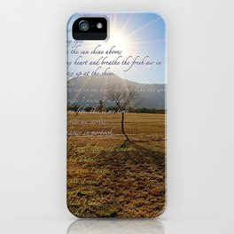Grateful Song iPhone Case