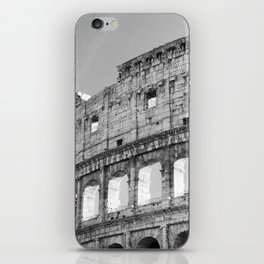 Black and White Vaticano iPhone Skin