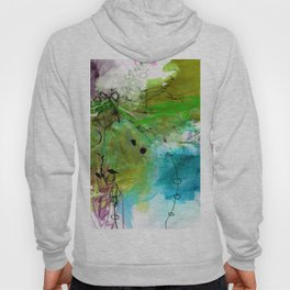 Abstract Composition 6H by Kathy Morton Stanion Hoody