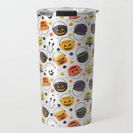 Halloween Candy Buckets Travel Mug