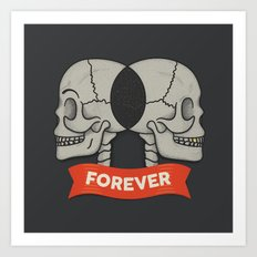 Together Forever Art Print