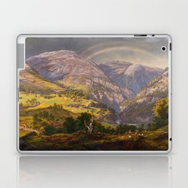 View from Stalheim (Fra Stalheim)  Laptop & iPad Skin