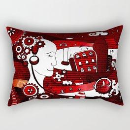 urban-city in a dream Rectangular Pillow