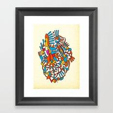 - square balance - Framed Art Print