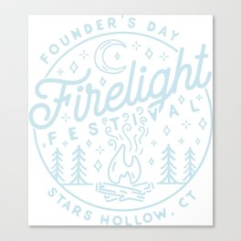 Firelight Festival Canvas Print