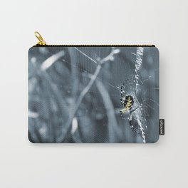 Patience (in Blue) Carry-All Pouch