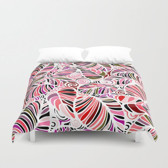 Evening in the Garden Duvet Cover