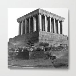 Ho Chi Minh Mausoleum - Hanoi - Vietnam Metal Print