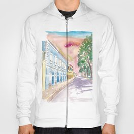 Frederiksted US Virgin Islands Colonial Promenade At Sunset St Croix Hoody