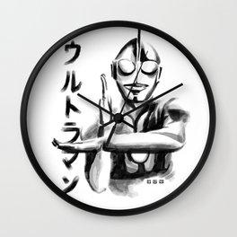 Waterbrushed Robot Hero Wall Clock