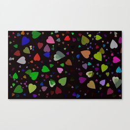 Tilia colorful abstract design Canvas Print