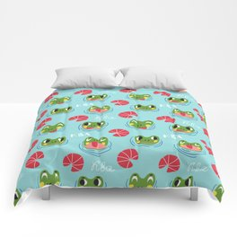 Have a froggy day! Comforters