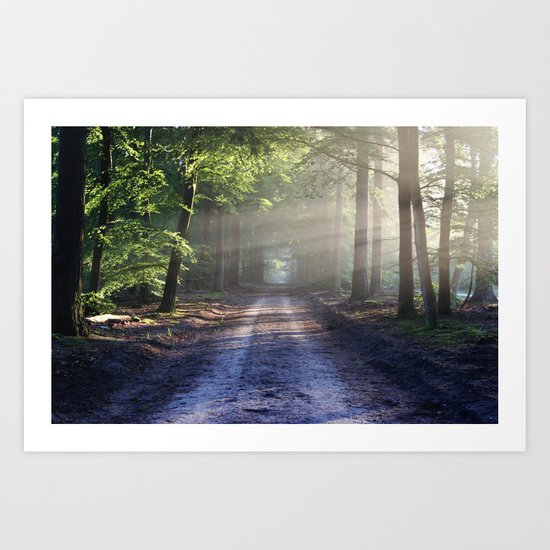 All roads lead to adventure Art Print