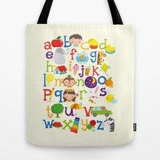 Wedgienet's Alphabet Tote Bag