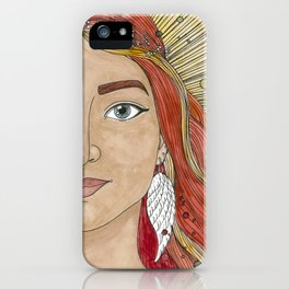 Joanna iPhone Case