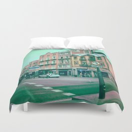 Facing Matter Duvet Cover