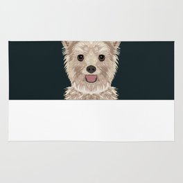 Tanner - Yorkshire Terrier gifts and gifts for dog person and dog people gift ideas Rug